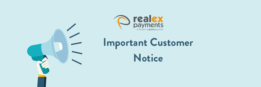 Realex Payments Security Notice