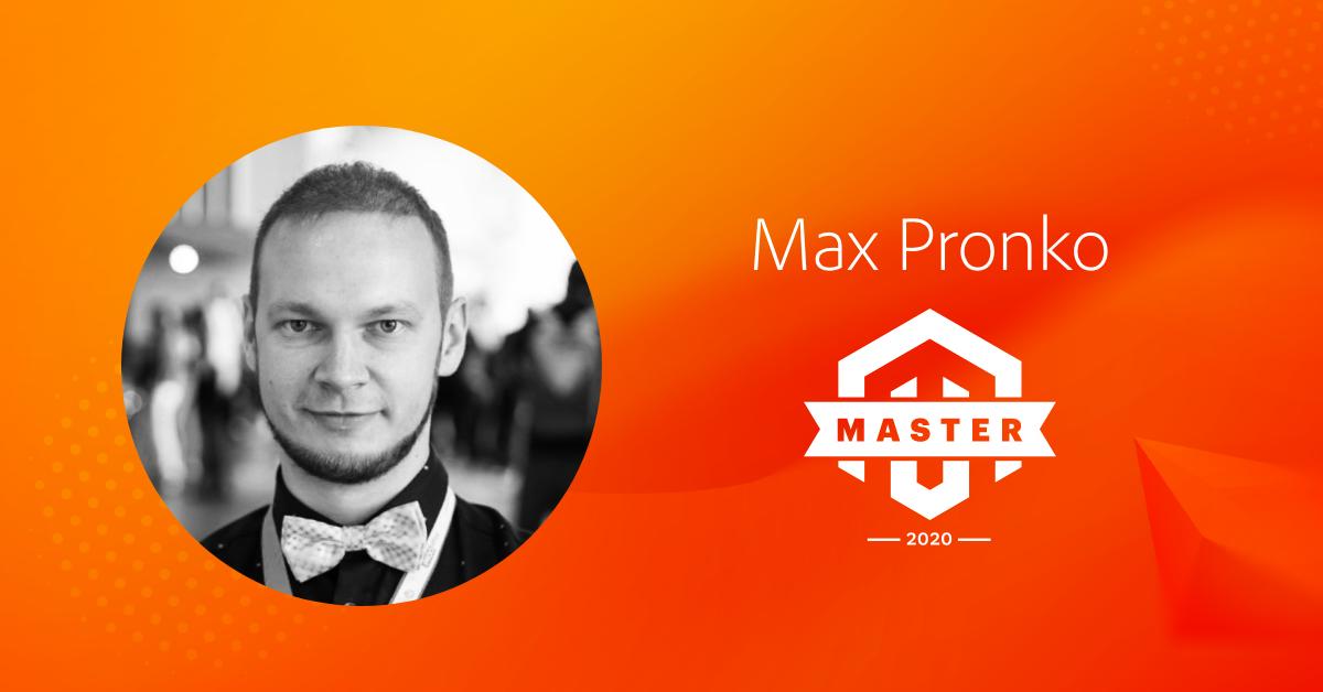 Max Pronko is the Magento Master