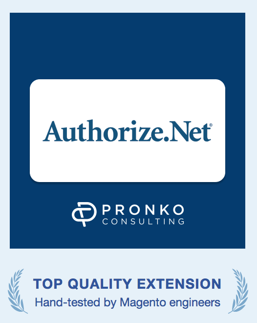 Authorize.net extension